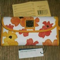Dooney & Bourke Bloom  Continental Clutch Yellow Wblom0507ylzj Photo