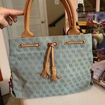 Dooney & Bourkebluemini Tassel Totepurse Handbagsatchel Photo