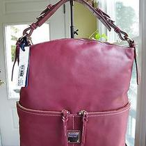 Dooney & Bourke Bordeaux/red Pocket Sac./hobo Photo