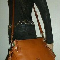 Dooney & Bourke Brown Florintine Leather Crossbody Bag Shoulder Bag Purse   Photo