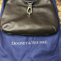 Dooney & Bourke Brown Grain Leather Hobo New Without Tags Photo
