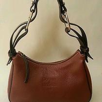 Dooney & Bourke Brown Leather Hobo Handbag Euc Photo