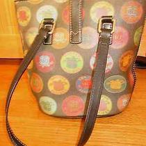 Dooney & Bourke Bucket Handbag Tote Purse Shoudler Bag Women's  Photo