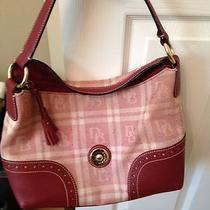 Dooney & Bourke Burgundy Logo Handbag Photo
