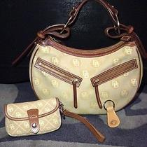 Dooney & Bourke Circle Hobo Bag With Wristlet and Keychain Mint Photo