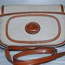 Dooney & Bourke Classic All Weather Leather Beige Cross Body Handbag Photo