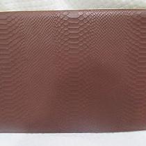 Dooney & Bourke Computer Sleeve Python Leather Portfolio Document Holder New Photo