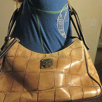 Dooney & Bourke Croc Embossed Shoulder Handbag Hobo  Photo