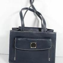 Dooney & Bourke. Dark Teal Pebbled Leather Women's Shoulder Bag Photo