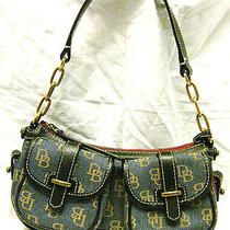 Dooney & Bourke Denim Logo Shoulder Bag Purse Photo