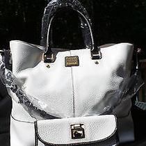 Dooney & Bourke Dillen Leather Chelsea Shopper W/ Dillen Leather Wallet - Nwt Photo