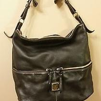 Dooney & Bourke Dillen Leather in Black Leather  Photo