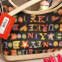 Dooney & Bourke Doodle Hobo Purse & Wristlet Photo