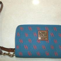 Dooney & Bourke  Folded Zip Wristlet Blue Photo