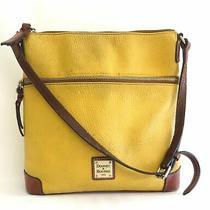 Dooney & Bourke Gold Pebble Leather Shoulder Purse Photo