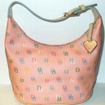 Dooney & Bourke Grafica Handbag Pink Purse Photo