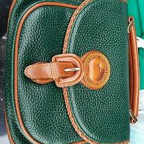 dooney&bourke Green and Brown Shoulder Bag and Purse Photo