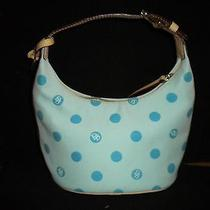 Dooney & Bourke Handbag Blue With Blue Dots Photo