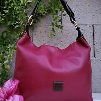Dooney & Bourke Handbag Leg Calf Leather O-Ring Hobo Purse Shoulder Bag Handbag  Photo