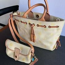 Dooney & Bourke  Hobo Cloth Bag With Matching Coin Purse Photo