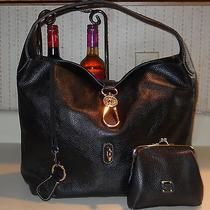 Dooney & Bourke Hobo/logo Lock Handbag - Black Photo