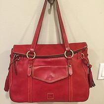 Dooney & Bourke Large Florentine Leather Smith Shoulder Bag Photo