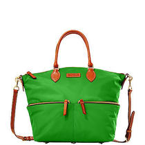 Dooney & Bourke  Large Pocket Satchel Green Green Photo