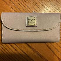 Dooney & Bourke Leather Continental Clutch Wallet Photo