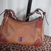 Dooney & Bourke Leather Harrison Hobo - Caramel Photo