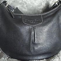 Dooney & Bourke Leather Luisa Handbag Hobo Black Rare Photo