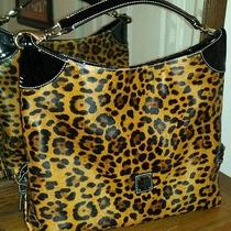 Dooney & Bourke Leopard Leather Hobo Bag Photo