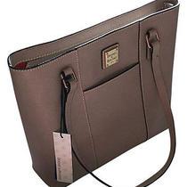 Dooney & Bourke Lexington Oyster Blush Tote Bag Saffiano Leather Photo