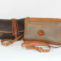 Dooney & Bourke Lot of 2 Vintage Shoulder Bags Photo