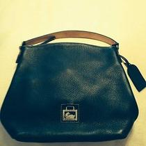 Dooney & Bourke Medium North/south Sac Hobo Handbag-Black Leather Photo