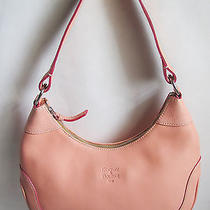 Dooney & Bourke Medium Pink Hobo Shoulder Bag     Photo