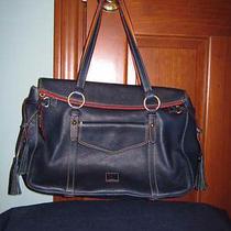 Dooney & Bourke - Nwt Authentic Florentine Leather Smith Bag - Navy Photo