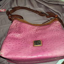 Dooney & Bourke Ostrich Hobo and Wristlet Photo