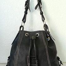 Dooney & Bourke Pebbled Leather  Bucket Shoulder Bag Photo