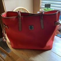 Dooney & Bourke  Poppy Red/orange (Bailey Bag- W/tassels Tote/carryall) Photo