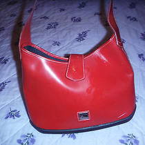 Dooney & Bourke Red Leather Handbag Hardly Used Photo
