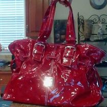 Dooney & Bourke Red Patent Leather Purse Used Only Twice Photo