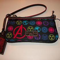 Dooney & Bourke Run Disney Marvel Avenger Wristlet Purse Nwt Photo