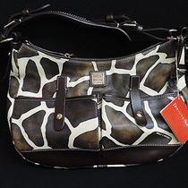 Dooney & Bourke Safari Bag Brown t'moro New Photo
