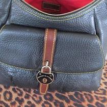 Dooney & Bourke Samba Leather Belted Hobo  -- Black Photo