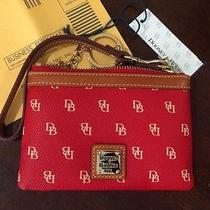 Dooney & Bourke Signature Red  Wristlet & Gift Box for Valentine's Day Gifting Photo