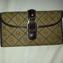 Dooney Bourke Signature Wallet Brown Pre-Owned Photo