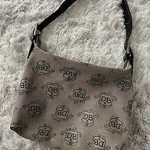Dooney & Bourke Small Hobo Signature Print Brown/tan Handbag  Photo