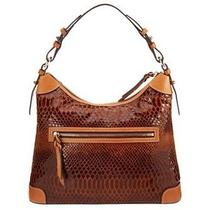 Dooney & Bourke Snake Embossed Leather Hobo With Accessories Photo