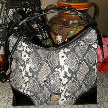 Dooney & Bourke Stunning Python Nikki Hobo Retail 425 Sale 319 Photo