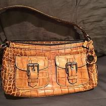 Dooney & Bourke Tan Croc Satchel Photo